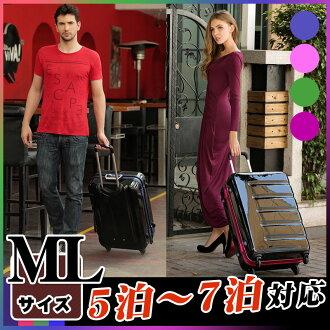 攜帶包袋行李箱攜帶手提箱流行的超輕質 5,6,7,中等大小 M Lsaizu 傳奇沃克傳說沃克