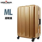 スーツケース 旅行用かばん キャリーバッグ キャリーバック キャリーケース 人気 超軽量 7日 8日 9日 長期滞在 中型 M L サイズ LEGEND WALKER レジェンドウォーカー レディースバッグ メンズバッグ 『6014-64』