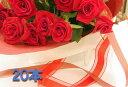 赤いバラの花束20本 生花 バラの花束赤いバラ 送料無料 予約 誕生日祝い結婚祝い開店祝い発表会母の日 女性に人気
