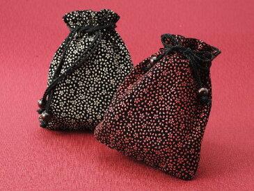 メール便可能です。巾着 京都 marimari 印伝調 巾着(小桜)日本製
