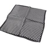 シルクスカーフ 定番ドット ブラック×ホワイト水玉ネッカチーフサイズ約50cm正方形白×黒  2色展開◆