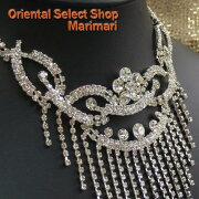 即納すぐに届くネックレス急ぎのフォーマルネックレススワロフスキーネックレス透明な石ダイヤモンドのようなラインストーンウェディングドレスに合うゴージャスなネックレスクリスタルのネックレス