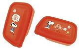 大西賢製販 PEANUTS SNOOPY(スヌーピー) フードコンテナ(M) 2個入り RED PA-710