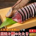 土佐沖 日戻り 藁焼き鰹たたき 高知県産 一本釣り 2節 タ