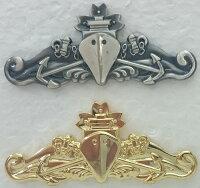 【海上自衛隊グッズ】【徽章】マリンバッチ/大【金・銀】【バッチ】