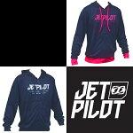 JETPILOT/ジェットパイロット2017モデルRUSHHOODIEメンズラッシュパーカー/ラッシュガード