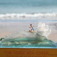 ウェーブティッシュケース/インテリア小物・雑貨サーフィン