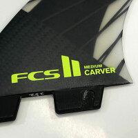 FCS2FINエフシーエスツーFCSIICARVERPCYELTRIFINサイズMトライフィン3枚SET2017モデルFCSエフシーエスフィンサーフィンショートボードフィン日本正規品