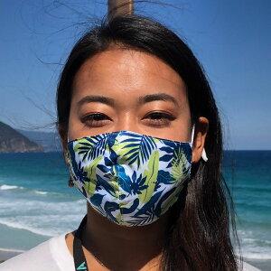 洗えるマスクファッションマスクI♥MASKシリーズILOVEMASKポリエステル100%おススメ人気大人マスク可愛いかわいい花柄通販サスティナブルマスク布マスク花柄通販白浜マリーナ