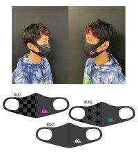 洗えるマスクQUIKSILVERクイックシルバー速乾ファッションマスク伸縮4WAYSTRECHストレッチ巣材抗菌防臭UPF+50FASHIONMASK
