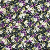 ハワイアン生地ブラックティアレモンステラシダパウスカート生地カーテン生地ベットカバー生地おしゃれかわいいおススメブラックホワイトグリーンオレンジ紫黒白コットン100%綿フラハワイ白浜マリーナ