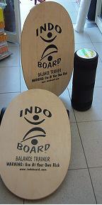INDOBOARDインドボードナチュラルDVD付き/トレーニングサーフィン送料無料