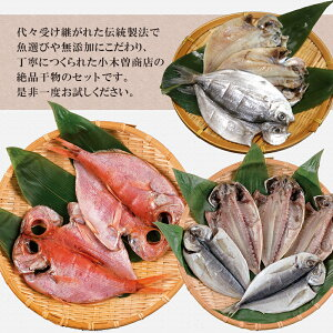 伊豆下田名産ひものBセット10枚小木曽商店創業120年