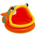 レイジーフィッシュシェードベビープール INTEX 57109NP/子供用浮き輪 海水浴グッズ 玩具【あす楽】【あす楽_土曜営業】【あす楽_日…