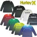 Hurley ハーレー メンズラッシュガード 長袖ラッシュTシャツ UPF50+ RASH LONG SLEEVE TEE MKLSLY15 O&O