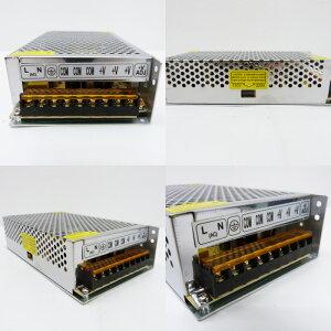 【大容量電源20A】100v→12v変換ACアダプター家庭用コンセントでLEDテープ5A以上アダプター12v20AMAX240W