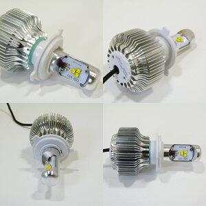 【バイク用】次世代LEDヘッドライトH4/H4R1対応HI/LOW1800lmスクーターヘッドランプ6000k12v/24v