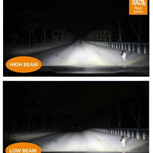 【2年保証】LEDヘッドライトH4/Hi-Lo40w3600lmCREEledh4一体型次世代ヘッドランプledバルブコントローラー不要CREE社車正規品5000k6000k8000k12v/24v