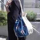巾着型和柄トートバッグ