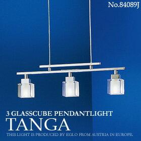 【EGLO:エグロ|TANGA:タンガ -3th ice cube-】 |84089J|ガラスキューブペンダントライト3灯|【インテリア照明】(2-2