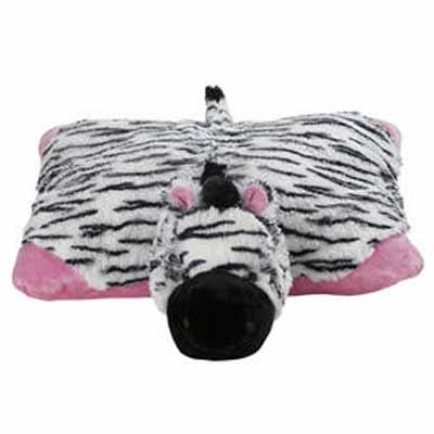 子供 授乳 クッション サポーター マイピローペット ピンク シマウマ Sサイズ