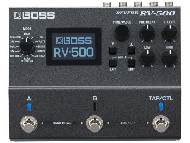 ギター用アクセサリー・パーツ, エフェクター BOSS RV-500