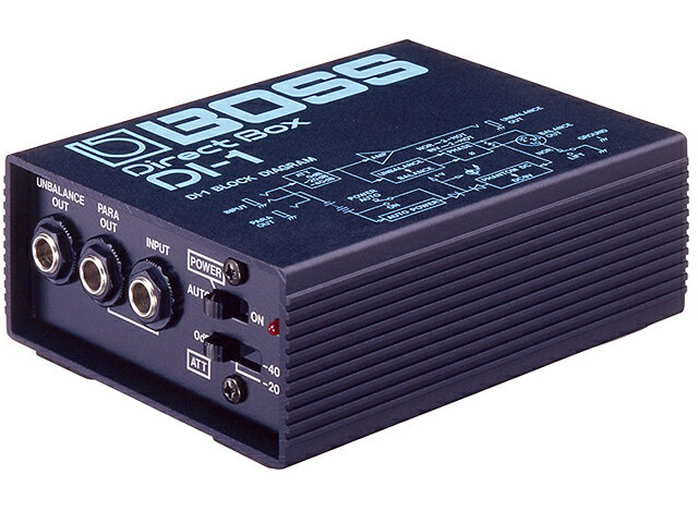 DAW・DTM・レコーダー, ダイレクトボックス BOSS DI-1 3