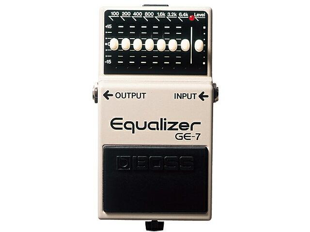 ギター用アクセサリー・パーツ, エフェクター BOSS Equalizer GE-7