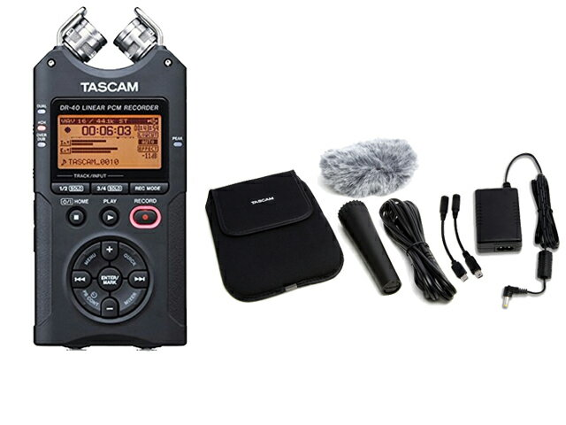 DAW・DTM・レコーダー, その他 TASCAM DR-40VER2-J AK-DR11G MKII
