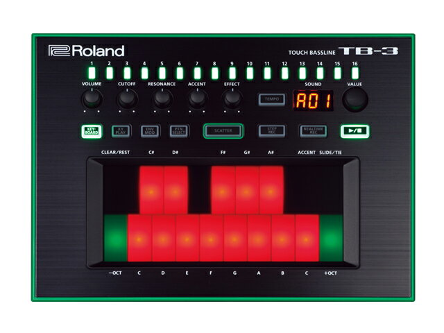ピアノ・キーボード, キーボード・シンセサイザー Roland AIRA TB-3()