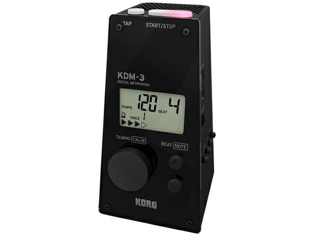 【即納可能】KORG KDM-3-BK メトロノーム KDM-3 ブラック(新品)【送料無料】