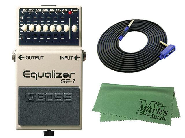 ギター用アクセサリー・パーツ, エフェクター BOSS Equalizer GE-7 3m VOX VGS-30