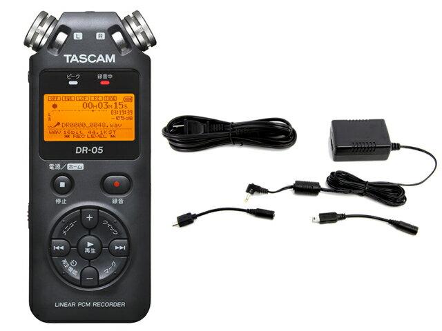DAW・DTM・レコーダー, ポータブルレコーダー・フィールドレコーダー TASCAM DR-05 VER3 PS-P520E