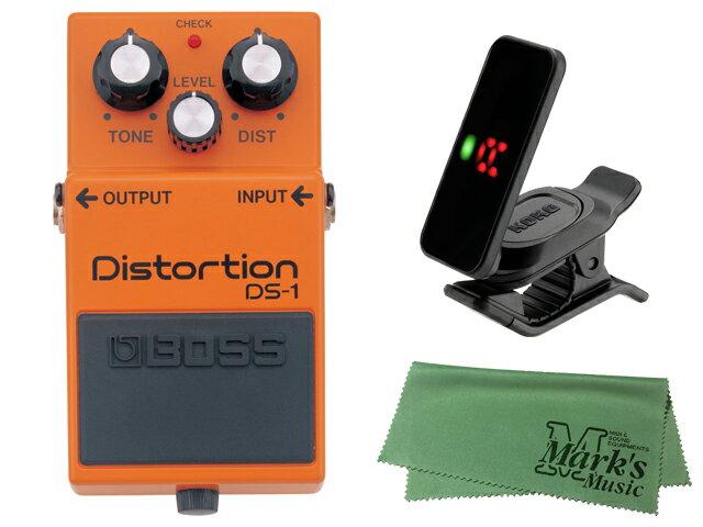 ギター用アクセサリー・パーツ, エフェクター BOSS Distortion DS-1 KORG Pitchclip 2 PC-2