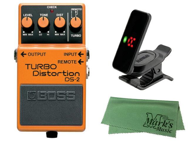ギター用アクセサリー・パーツ, エフェクター BOSS TURBO Distortion DS-2 KORG Pitchclip 2 PC-2
