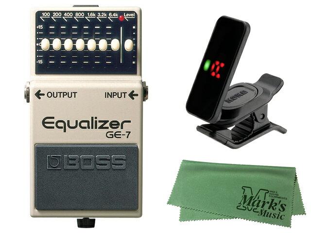 ギター用アクセサリー・パーツ, エフェクター BOSS Equalizer GE-7 KORG Pitchclip 2 PC-2