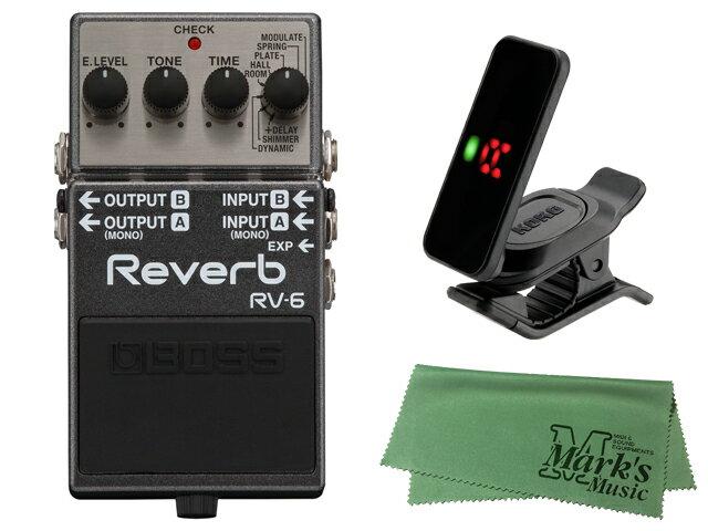 ギター用アクセサリー・パーツ, エフェクター BOSS Reverb RV-6 KORG Pitchclip 2 PC-2