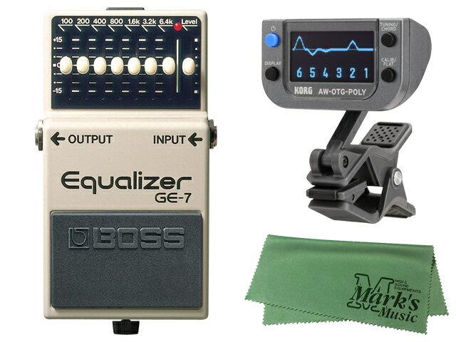 ギター用アクセサリー・パーツ, エフェクター BOSS Equalizer GE-7 KORG AW-OTG-POLY