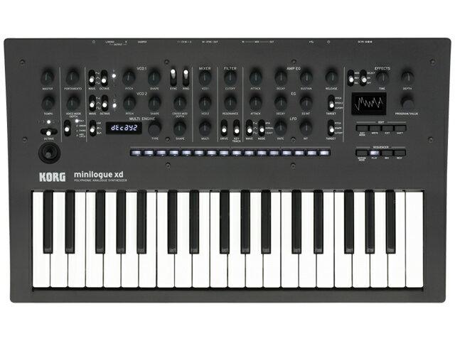 ピアノ・キーボード, キーボード・シンセサイザー KORG minilogue xd