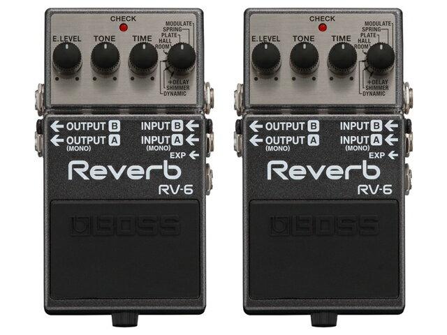 ギター用アクセサリー・パーツ, エフェクター BOSS Reverb RV-6 2