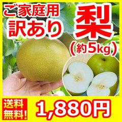 地元だから出来るこの価格!味は秀品と同じ、みずみずしくジューシーな梨!ご家庭用にどうぞ。[...