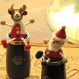 クラリネット・バレルSELMER木製おすわり人形クリスマス仕様