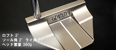 NEWモデル発売!!GRIDDESIGNグリッドデザインパターM30B、M35CSマレットパター