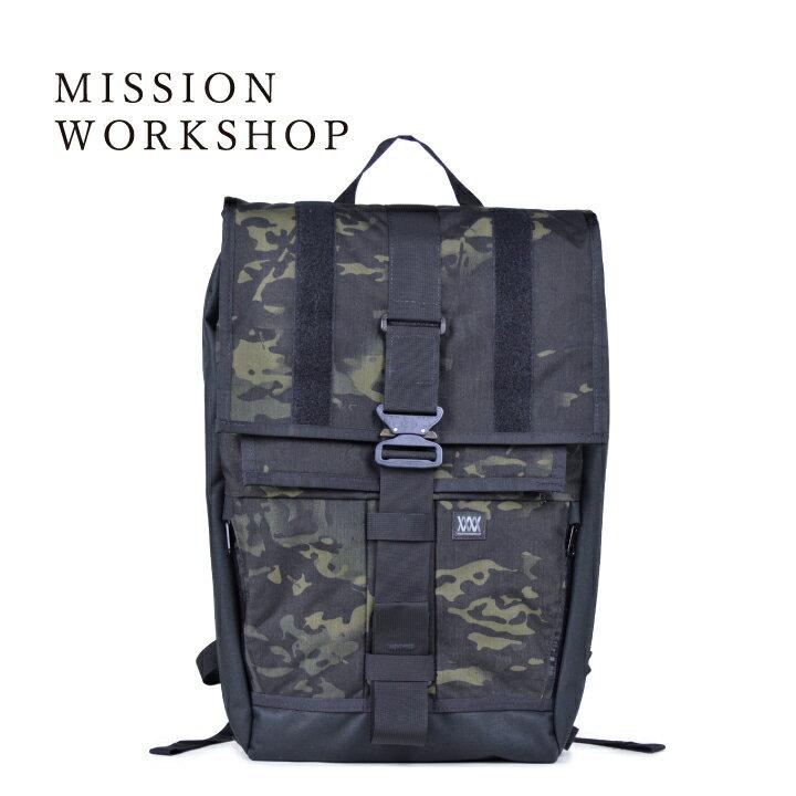 ミッションワークショップ バンダル MISSION WORKSHOP The Vandal Black Camo Series Cargo Packs 【marquee】:marquee