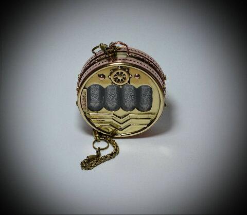 ニキシー管 時計 ポケットニキシー ニキシー 懐中時計 小型ニキシー管時計 レトロ
