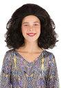 《ラストクーポン 全品10%OFF》Bouncy Brown Curly 女の子s ウィッグ ハロウィン コスプレ 衣装 仮装 小道具 おもしろい イベント パーティ ハロウィーン 学芸会