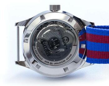 SEIKOセイコーSEIKO5バルセロナコラボSRP305K1自動巻き&手巻き腕時計