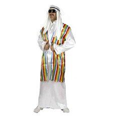 在庫あり 即納 アラブの石油王 コスチューム 大人用/ハロウィン/コスプレ/アラブ人/衣装/仮装/...