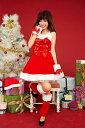 3点セット!!かわいい 誕生日 セクシー サンタ ドレス コスチューム レディス 女性 大人用 コスプレ 衣装 変装 彼女 ミニスカ サンタクロース プレゼント サンタガール ハロウィンにも♪