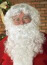 2点セット!!本格的 サンタ サンタクロース ウィッグ かつら ひげ 誕生日 男性 メンズ コスチューム コスプレ 男性 メンズ 仮装 衣装 学園祭 文化祭
